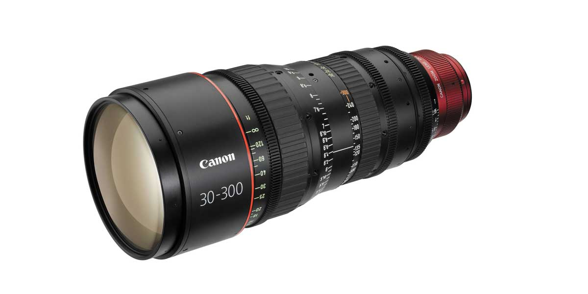 Canon CN zoom 30-300mm T2.95/3.7