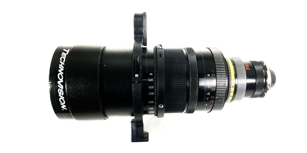 Zoom Cook Anamorphic 50-500mm T5.6