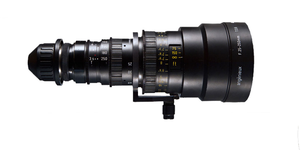 Angineux Zoom HR 25-250mm T 3.5