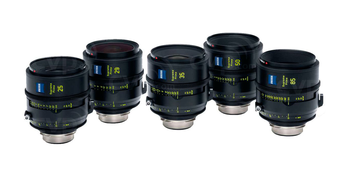ZEISS FULL FRAME SUPREME PRIME LENSES